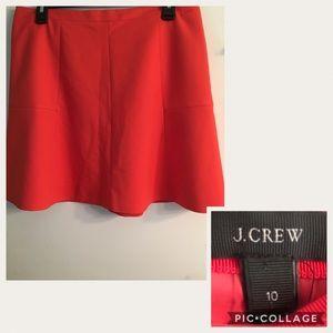 J. Crew gorgeous skirt